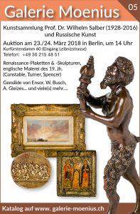 Galerie Moenius - Auktion 5 in Berlin www.galerie-moenius.ch